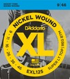 D-Addario EXL-125 струны для электрогитары, Super Light / Regular, никель, 9-46