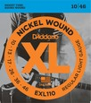 D-Addario EXL-110 струны для электрогитары Regular Light, никель, 10-46